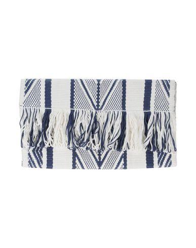 VOZ レディース ハンドバッグ ブルー 紡績繊維