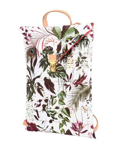 MAISON BALUCHON レディース バックパック&ヒップバッグ ホワイト 紡績繊維