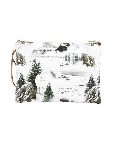 MAISON BALUCHON レディース ハンドバッグ ホワイト 紡績繊維