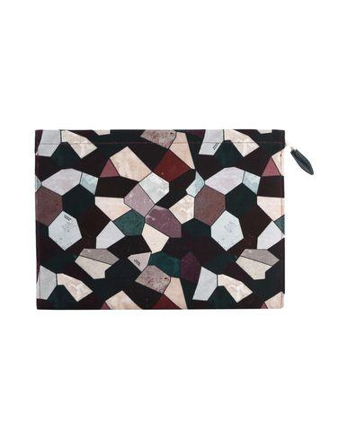 MAISON BALUCHON レディース ハンドバッグ パープル 紡績繊維 / 革