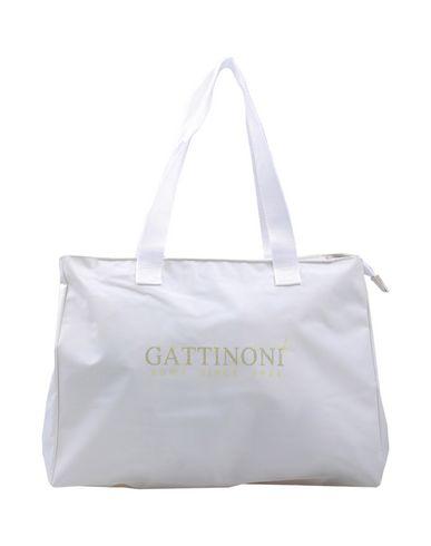 GATTINONI レディース 肩掛けバッグ ホワイト 紡績繊維