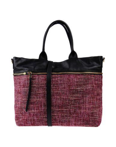 GIANNI CHIARINI レディース ハンドバッグ ピンク 革 / 紡績繊維