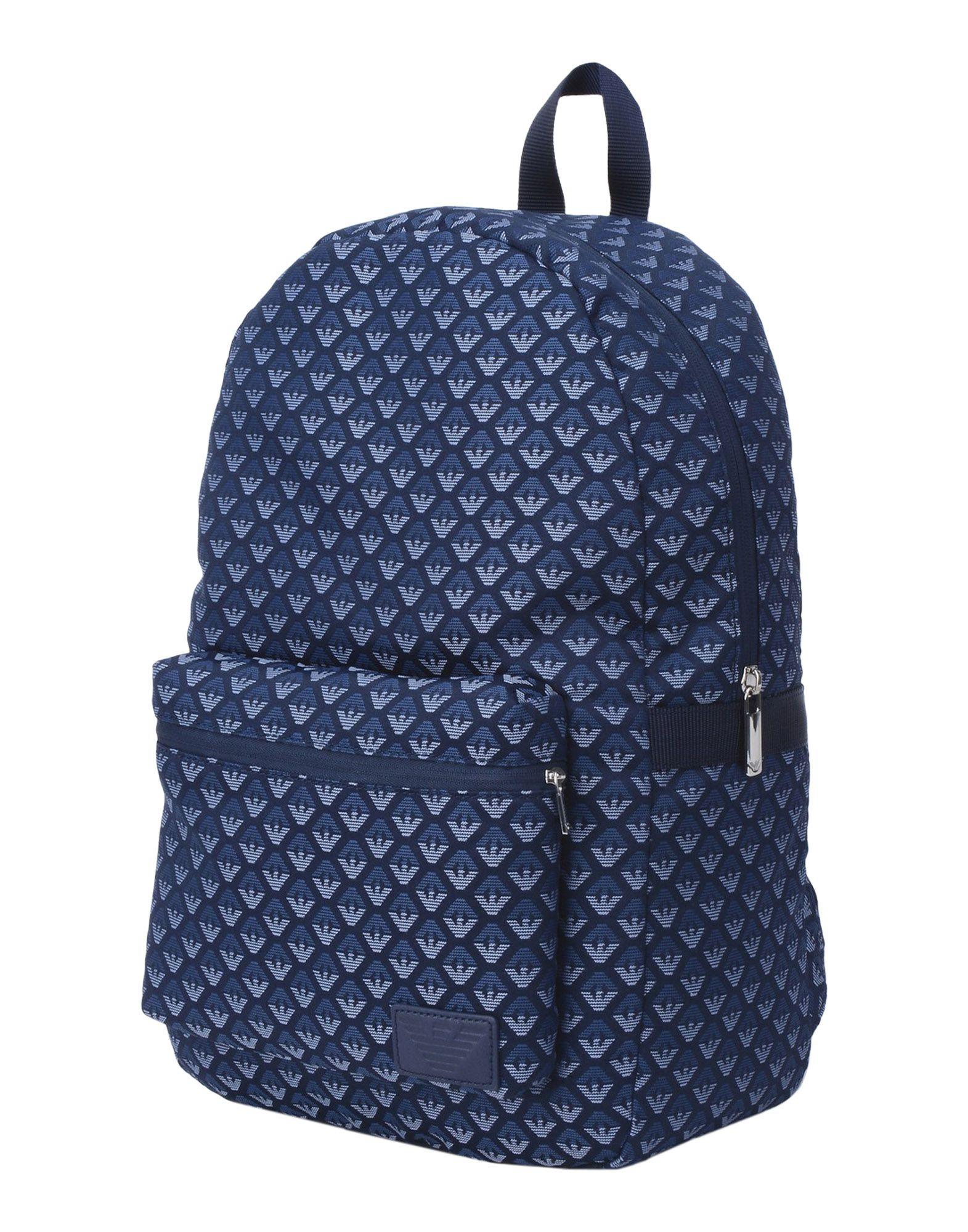 ARMANI JUNIOR Рюкзаки и сумки на пояс цена 2017