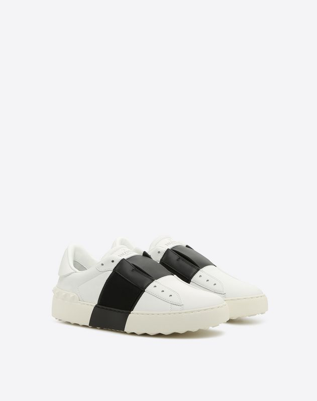 Tie-Up lace less Open sneaker