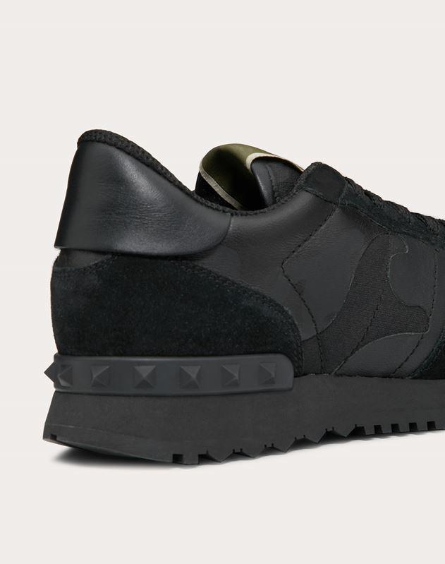 Camouflage Noir Sneaker