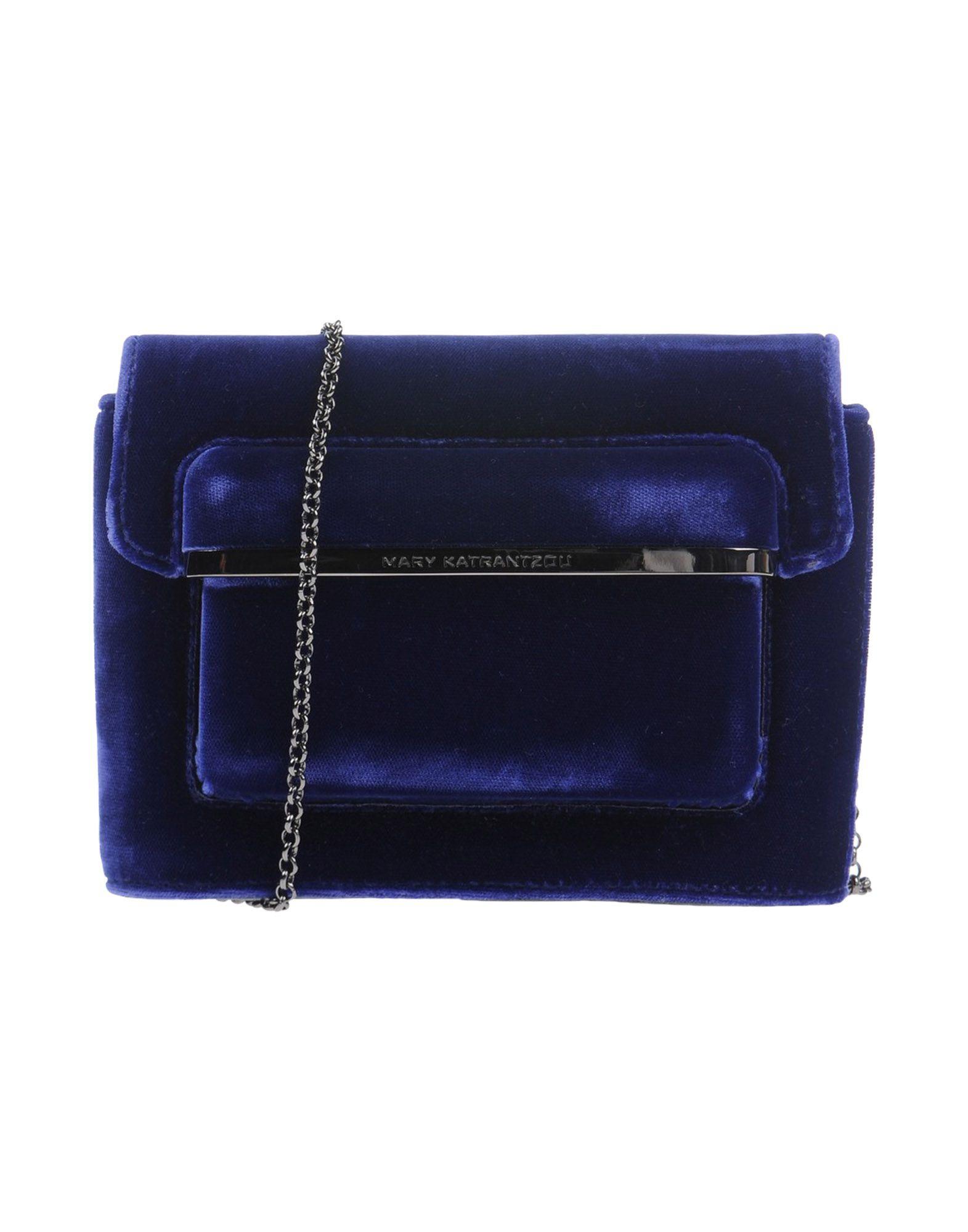 MARY KATRANTZOU Damen Handtaschen Farbe Dunkelblau Größe 1