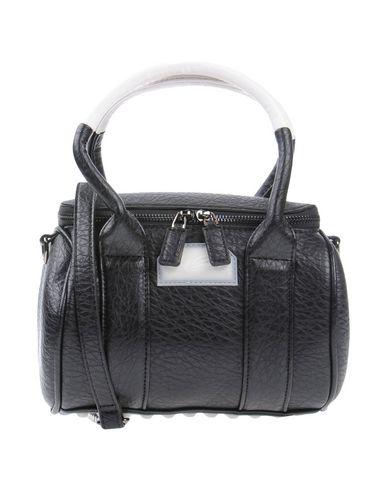 LA CARRIE レディース ハンドバッグ ブラック 紡績繊維