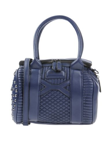 LA CARRIE レディース ハンドバッグ ブルー 紡績繊維