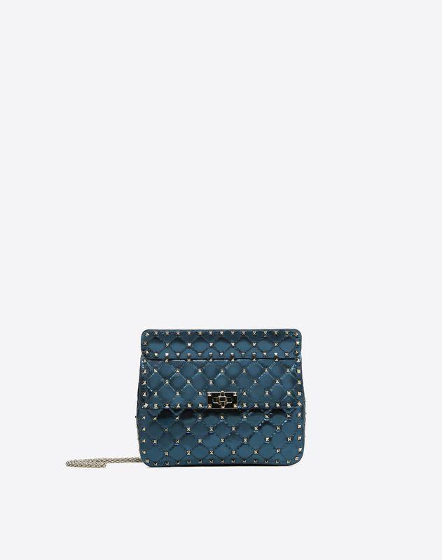 Medium Metallic Spike Bag For Woman