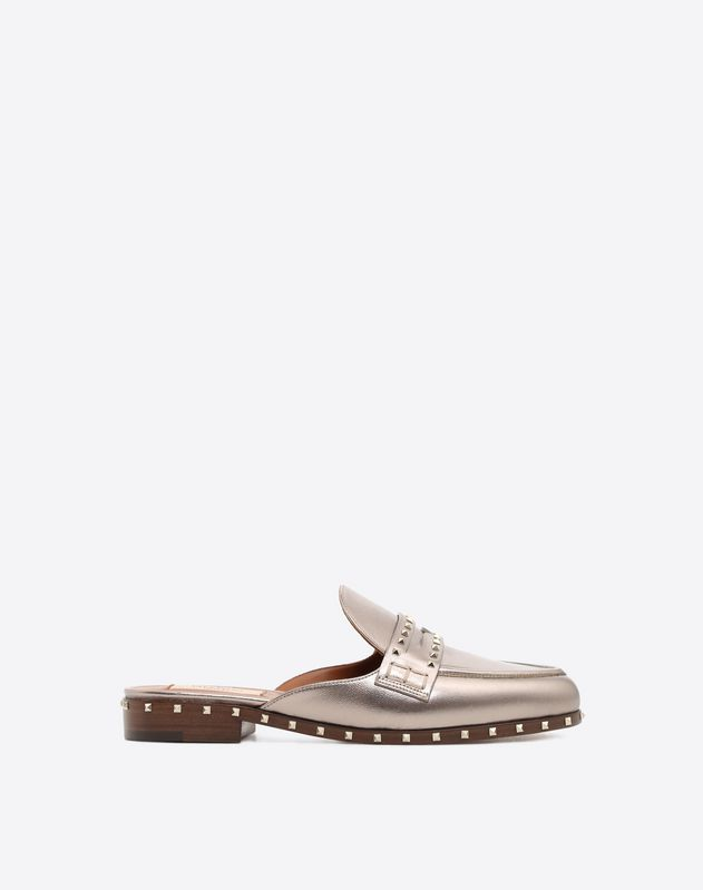 Sole Stud Flat Loafer