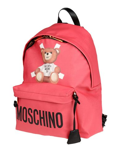 MOSCHINO COUTURE レディース バックパック&ヒップバッグ レッド ポリウレタン 100%