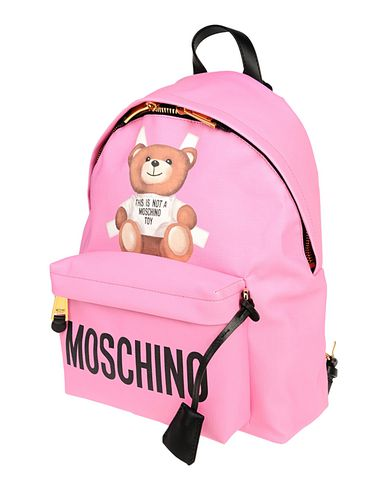 MOSCHINO COUTURE レディース バックパック&ヒップバッグ フューシャ ポリウレタン 100%