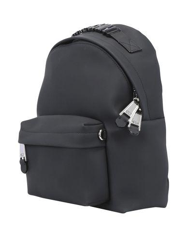 MOSCHINO レディース バックパック&ヒップバッグ ブラック 紡績繊維