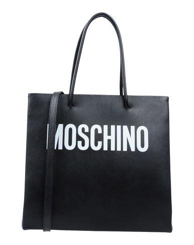 MOSCHINO レディース ハンドバッグ ブラック 牛革(カーフ) 100%