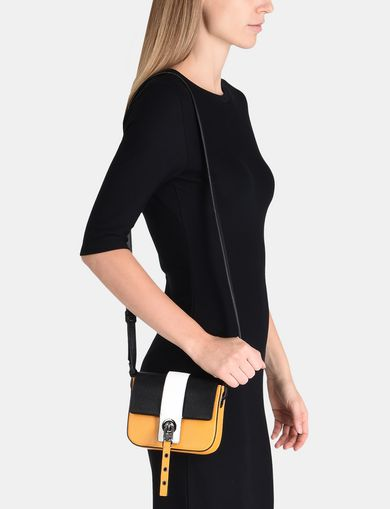 COLORBLOCKED SAFFIANO MINI CROSSBODY