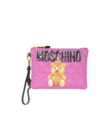 MOSCHINO COUTURE レディース ハンドバッグ フューシャ 紡績繊維