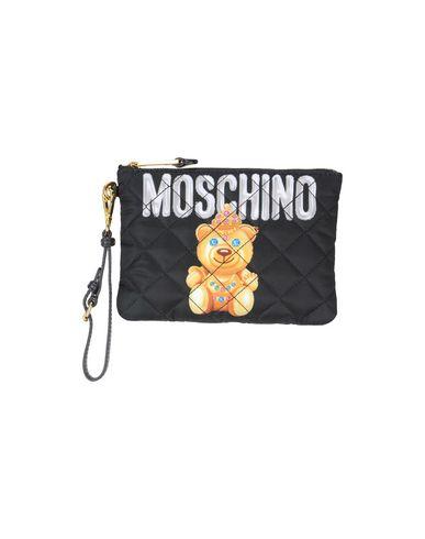 MOSCHINO COUTURE レディース ハンドバッグ ブラック 紡績繊維