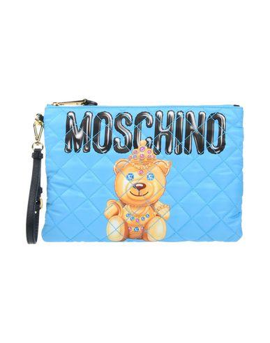 MOSCHINO COUTURE レディース ハンドバッグ アジュールブルー 紡績繊維