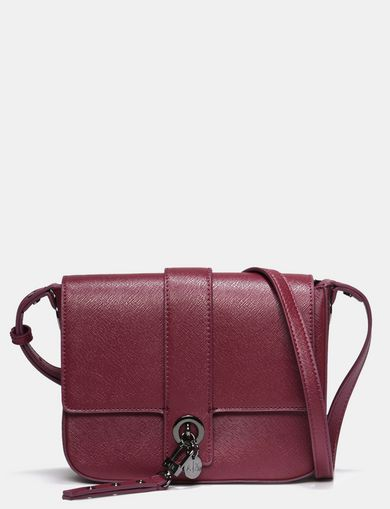 CHARM DETAIL CROSSBODY BAG