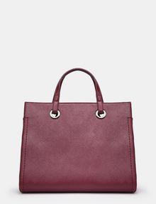 ARMANI EXCHANGE SAFFIANO SATCHEL Satchel bag Woman d