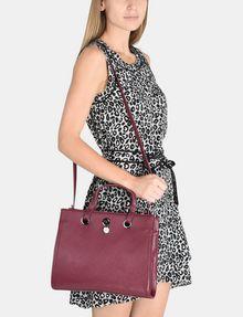 ARMANI EXCHANGE SAFFIANO SATCHEL Satchel bag Woman r