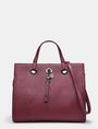 ARMANI EXCHANGE SAFFIANO SATCHEL Satchel bag Woman f