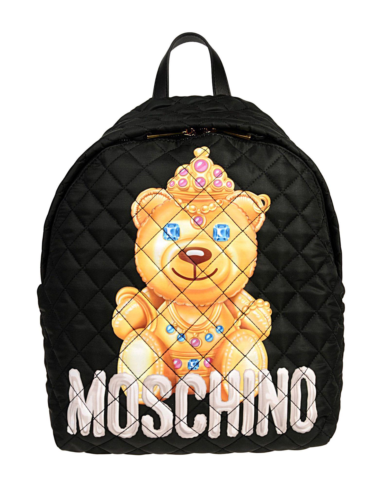 MOSCHINO Рюкзаки и сумки на пояс moschino couture рюкзаки и сумки на пояс