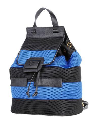 BOUTIQUE MOSCHINO レディース バックパック&ヒップバッグ ブラック 革 / 紡績繊維