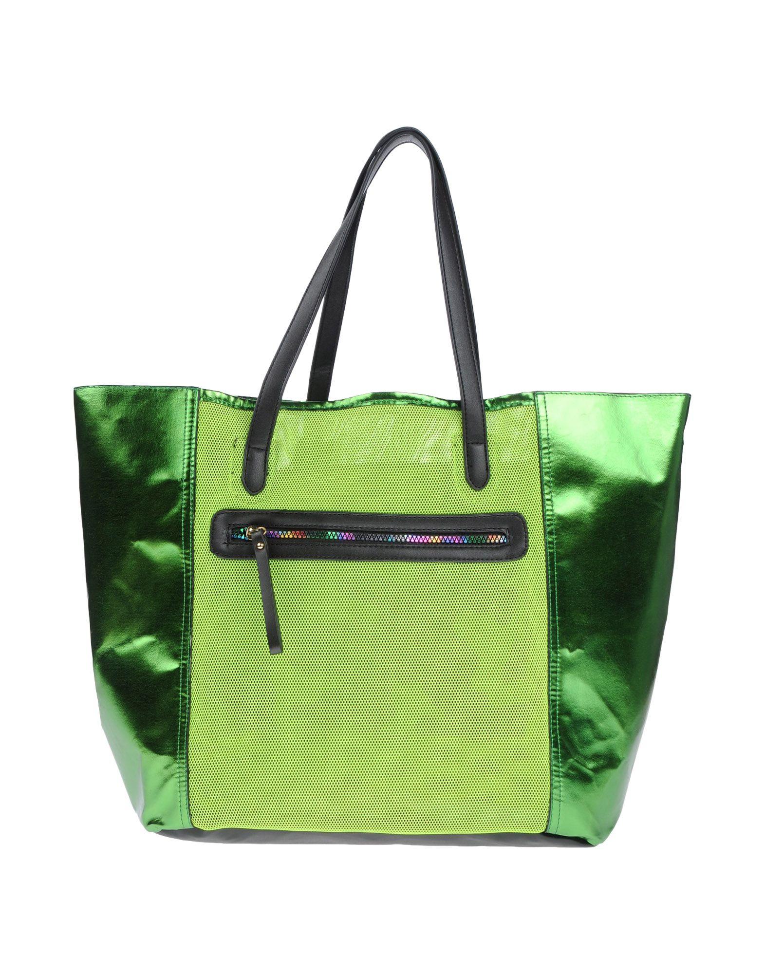 《セール開催中》GOOD MOOD レディース ハンドバッグ ビタミングリーン 紡績繊維