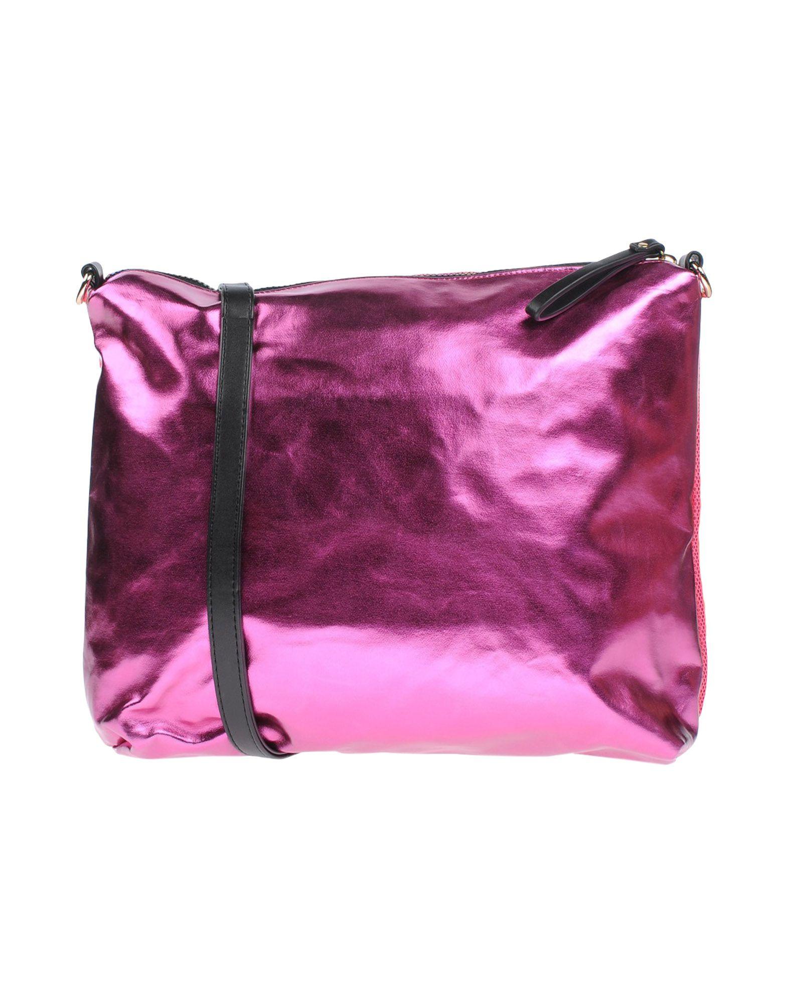 《セール開催中》GOOD MOOD レディース ハンドバッグ フューシャ 紡績繊維 / 革