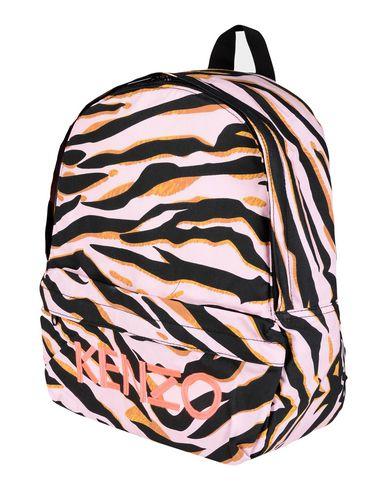 KENZO ガールズ 3-8 歳 バックパック&ヒップバッグ ピンク コットン 100%