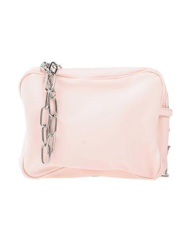 MM6 MAISON MARGIELA レディース ハンドバッグ ピンク ポリエステル 100% / ポリウレタン