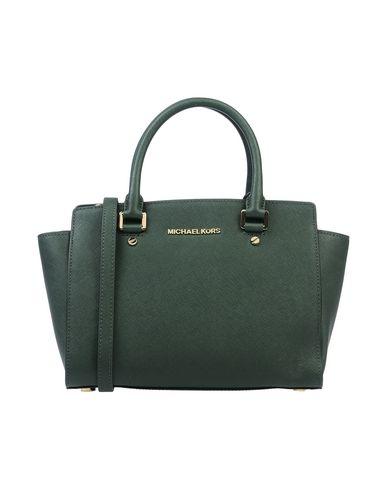 Купить Сумку на руку темно-зеленого цвета