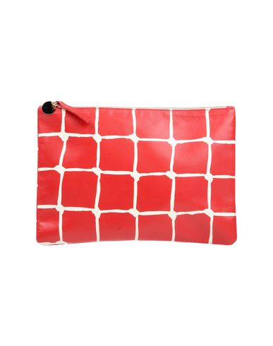 CLARE V. レディース ハンドバッグ レッド 紡績繊維