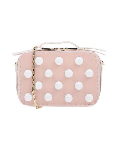 POLLINI レディース ハンドバッグ ピンク 紡績繊維