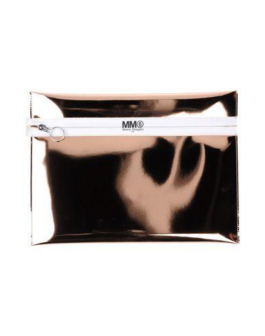 MM6 MAISON MARGIELA レディース ハンドバッグ ブロンズ ポリエステル 100% / ポリウレタン