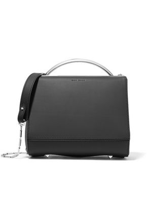 EDDIE BORGO Dean Doctor mini matte-leather shoulder bag