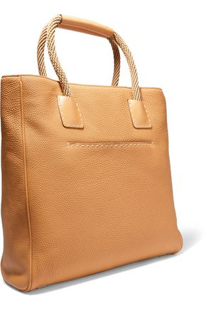 MICHAEL KORS COLLECTION Textured-leather tote