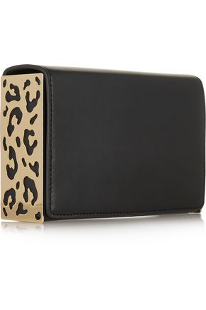MICHAEL KORS COLLECTION Embellished leather clutch