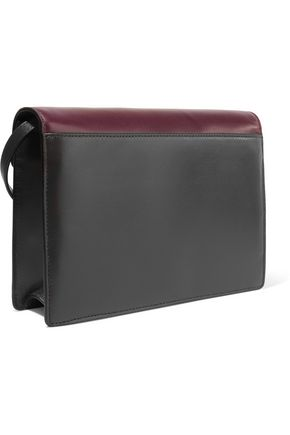MICHAEL KORS COLLECTION Color-block leather shoulder bag