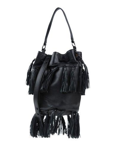 LOEFFLER RANDALL レディース ハンドバッグ ブラック 紡績繊維 / ラフィア