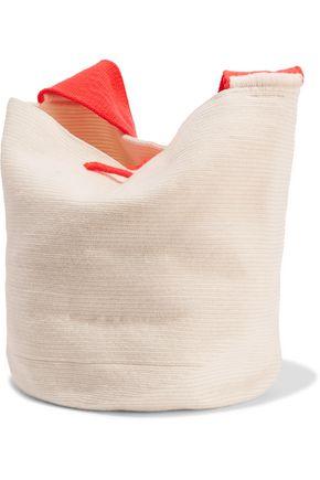 SOPHIE ANDERSON Lilla woven cotton shoulder bag