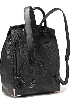 ALEXANDER WANG Prisma smooth and textured-leather backpack
