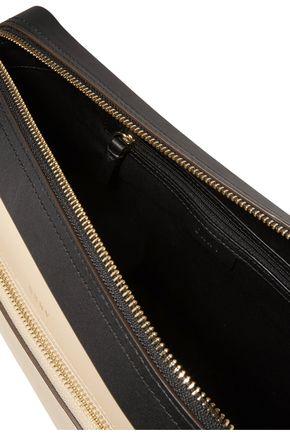 DKNY Greenwich color-block leather shoulder bag