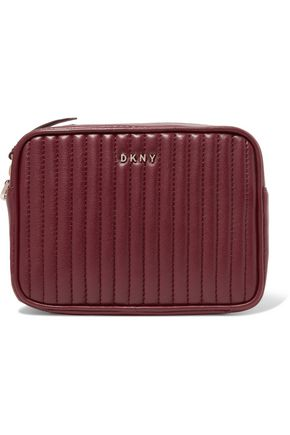 DKNY Gansevoort quilted leather clutch