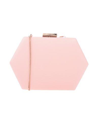 OLGA BERG レディース ハンドバッグ ピンク 紡績繊維