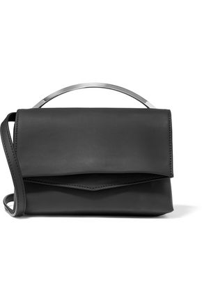 EDDIE BORGO Boyd Vanity matte-leather shoulder bag