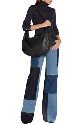 ELIZABETH AND JAMES Zoe large tasseled leather shoulder bag
