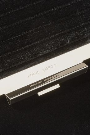 EDDIE BORGO Colt velvet shoulder bag