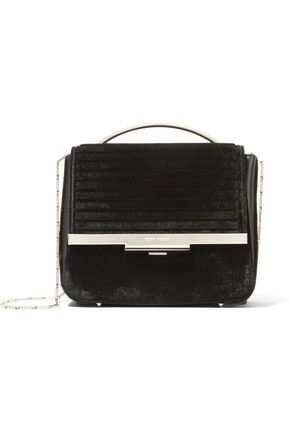EDDIE BORGO Colt velvet shoulder bag